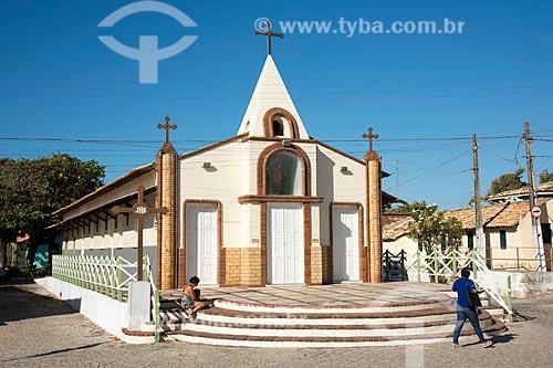 Fachada da Capela de São Pedro  - Beberibe - Ceará (CE) - Brasil