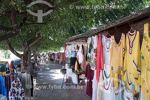 Feira de artesanato próximo à Praia de Morro Branco  - Beberibe - Ceará (CE) - Brasil