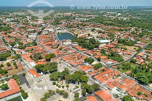 Foto feita com drone da cidade Aquiraz  - Aquiraz - Ceará (CE) - Brasil