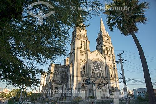 Fachada da Catedral Metropolitana de Fortaleza (1978)  - Fortaleza - Ceará (CE) - Brasil