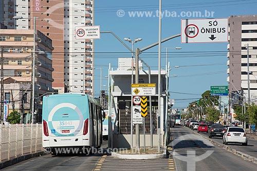 Corredor do Expresso Fortaleza na Avenida Bezerra de Menezes  - Fortaleza - Ceará (CE) - Brasil