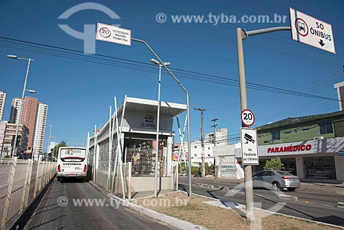 Estação Olavo Bilac do Expresso Fortaleza na Avenida Bezerra de Menezes  - Fortaleza - Ceará (CE) - Brasil