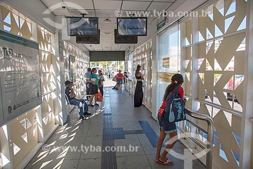 Interior de estação do Expresso Fortaleza na Avenida Bezerra de Menezes  - Fortaleza - Ceará (CE) - Brasil