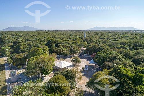 Foto feita com drone do Parque Estadual Botânico do Ceará  - Caucaia - Ceará (CE) - Brasil