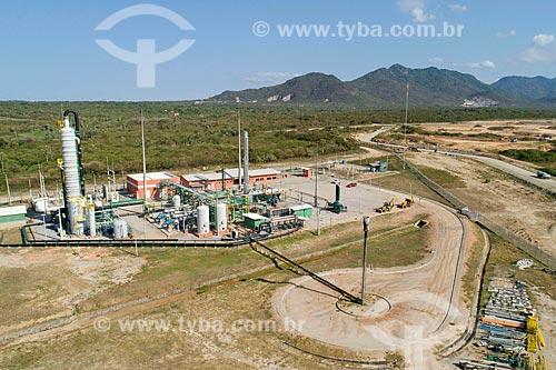 Foto feita com drone da usina de biogás do Aterro Sanitário Metropolitano Oeste de Caucaia (ASMOC)  - Caucaia - Ceará (CE) - Brasil