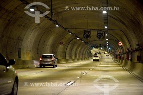 Interior do Túnel Prefeito Marcello Alencar (2016)  - Rio de Janeiro - Rio de Janeiro (RJ) - Brasil