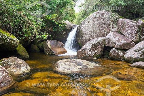 Poço da Ducha próximo ao Centro de Visitantes von Martius do Parque Nacional da Serra dos Órgãos  - Petrópolis - Rio de Janeiro (RJ) - Brasil