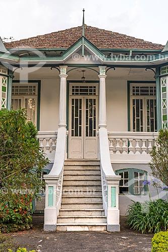 Fachada da Casa da Família Sawven  - Petrópolis - Rio de Janeiro (RJ) - Brasil