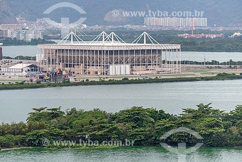 Vista do Centro Olímpico de Esportes Aquáticos - parte do Parque Olímpico Rio 2016  - Rio de Janeiro - Rio de Janeiro (RJ) - Brasil
