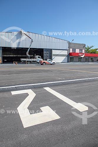 Hangar no Aeroporto Laélio Baptista - mais conhecido como Aeroporto de Maricá  - Maricá - Rio de Janeiro (RJ) - Brasil