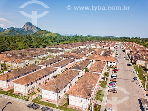 Foto feita com drone do Conjunto Residencial Carlos Marighella  - Maricá - Rio de Janeiro (RJ) - Brasil