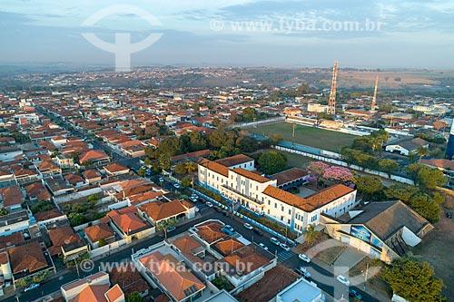 Foto feita com drone do Campus do Universidade Paulista (UNIP)  - Taquaritinga - São Paulo (SP) - Brasil