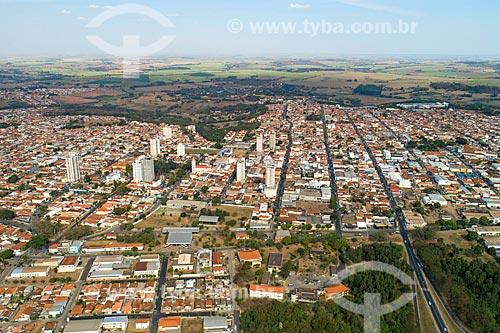 Foto feita com drone da cidade de Monte Alto  - Monte Alto - São Paulo (SP) - Brasil