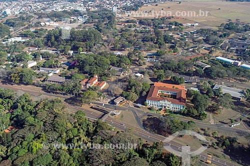 Foto feita com drone do Campus da Universidade Estadual Paulista (UNESP)  - Jaboticabal - São Paulo (SP) - Brasil