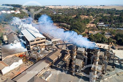 Foto feita com drone da Usina Santa Adélia  - Jaboticabal - São Paulo (SP) - Brasil