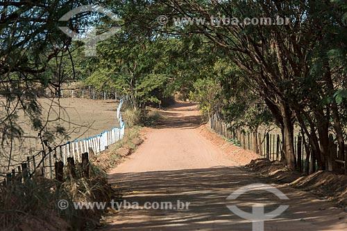Estrada vicinal que liga Monte Alto ao distrito de Jurupema em Taquaritinga  - Taquaritinga - São Paulo (SP) - Brasil