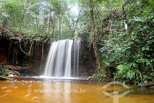 Cachoeira Maracanã no Rio Uatumã  - Amazonas (AM) - Brasil