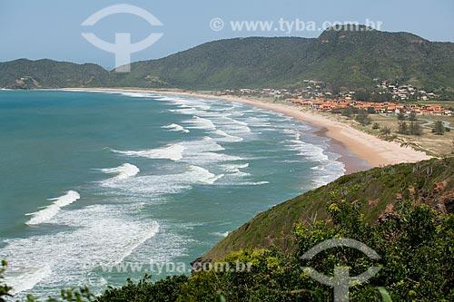 Vista da orla da Praia de Tucuns  - Armação dos Búzios - Rio de Janeiro (RJ) - Brasil