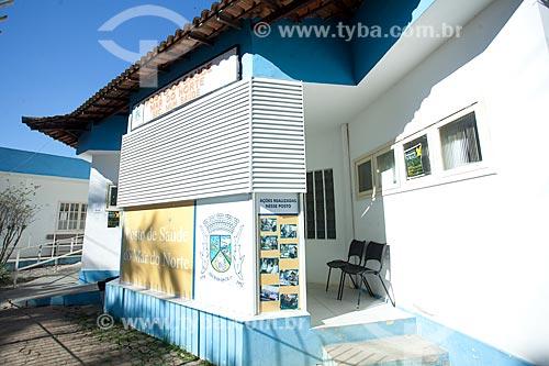 Fachada de Posto de saúde na cidade de Rio das Ostras  - Rio das Ostras - Rio de Janeiro (RJ) - Brasil