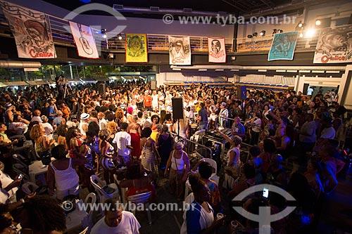 Roda de samba do projeto Criolice na Arena Carioca Fernando Torres no Parque Madureira  - Rio de Janeiro - Rio de Janeiro (RJ) - Brasil