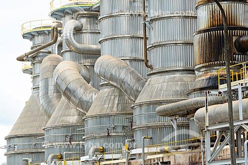 Detalhe do complexo industrial da Veracel Celulose  - Eunápolis - Bahia (BA) - Brasil