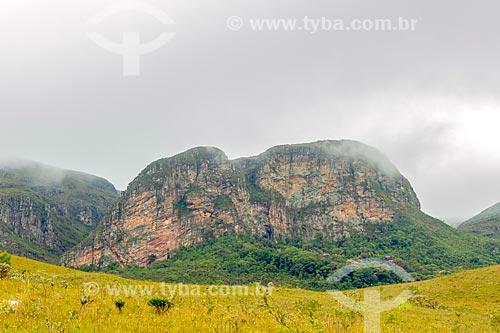 Vista da Pedra do Elefante na Serra do Cipó  - Santana do Riacho - Minas Gerais (MG) - Brasil