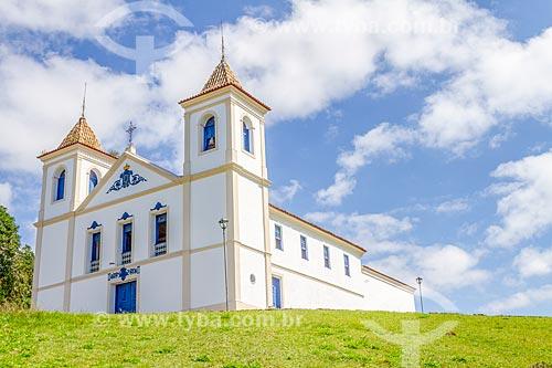 Fachada da Igreja de Nossa Senhora do Rosário (1766)  - Santa Luzia - Minas Gerais (MG) - Brasil