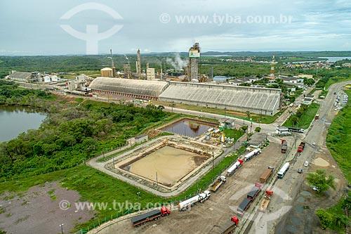 Foto feita com drone da fábrica de Fertilizantes Nitrogenados da Petrobras  - Riachuelo - Sergipe (SE) - Brasil