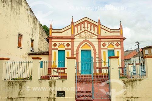 Fachada da 1ª Igreja Presbiteriana de Sergipe  - Laranjeiras - Sergipe (SE) - Brasil