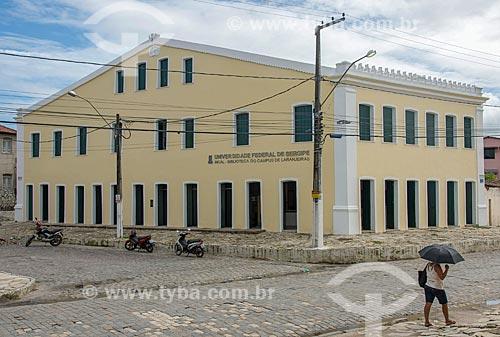 Biblioteca do campus da Universidade Federal de Sergipe na cidade de Laranjeiras no conjunto arquitetônico conhecido como Quarteirão dos Trapiches  - Laranjeiras - Sergipe (SE) - Brasil