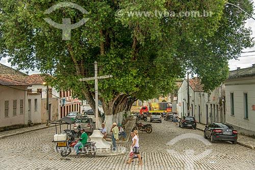 Praça na cidade de Laranjeiras  - Laranjeiras - Sergipe (SE) - Brasil