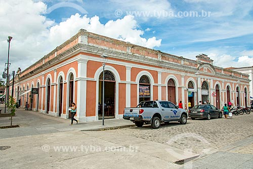 Fachada do Mercado Municipal de Penedo  - Penedo - Alagoas (AL) - Brasil