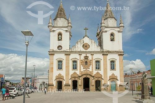 Fachada da Igreja de São Gonçalo Garcia dos Homens Pardos (1759)  - Penedo - Alagoas (AL) - Brasil