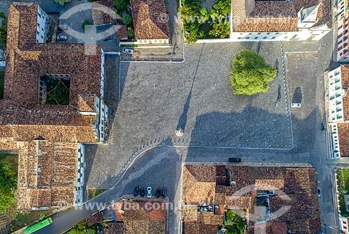 Foto feita com drone da Praça São Francisco  - São Cristóvão - Sergipe (SE) - Brasil