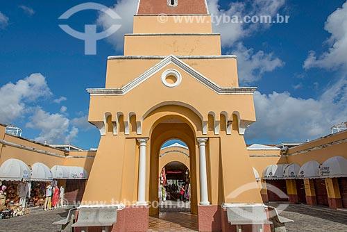 Torre do relógio no Mercado de Artesanato Thales Ferraz  - Aracaju - Sergipe (SE) - Brasil