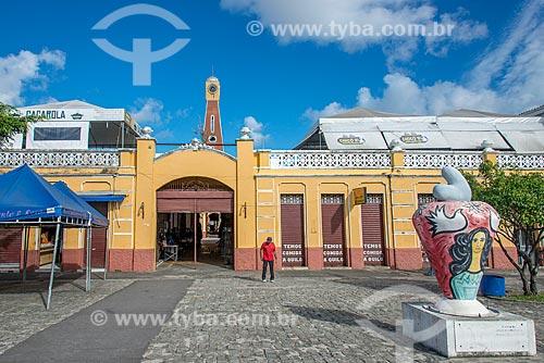 Fachada do Mercado de Artesanato Thales Ferraz  - Aracaju - Sergipe (SE) - Brasil