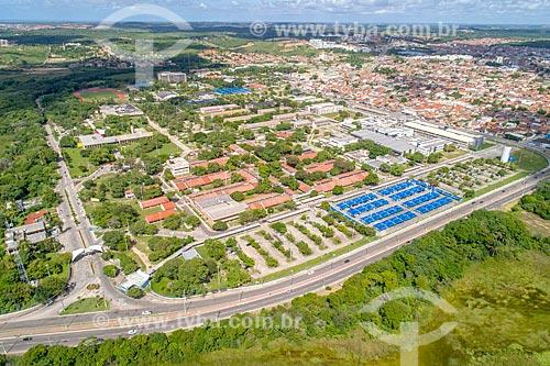 Foto feita com drone do campus da Universidade Federal de Sergipe em Aracaju  - Aracaju - Sergipe (SE) - Brasil