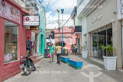 Lojas no centro da cidade de Itabaiana  - Itabaiana - Sergipe (SE) - Brasil