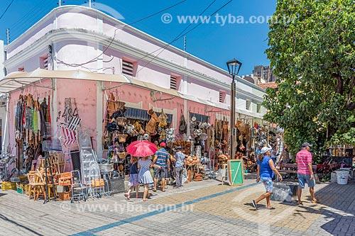 Loja de utilidades domésticas no centro da cidade de Fortaleza  - Fortaleza - Ceará (CE) - Brasil