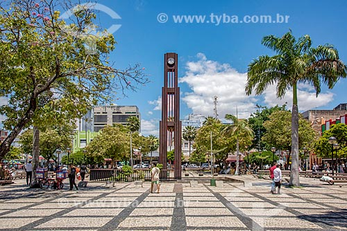 Torre do Relógio na Praça do Ferreira  - Fortaleza - Ceará (CE) - Brasil