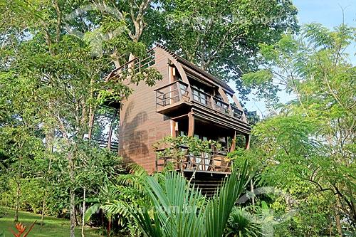 Bangalô no Lodge Mirante do Gavião  - Novo Airão - Amazonas (AM) - Brasil