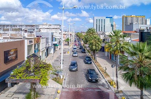 Foto feita com drone da Avenida Monsenhor Tabosa  - Fortaleza - Ceará (CE) - Brasil