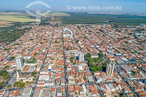 Foto feita com drone da cidade de Bebedouro  - Bebedouro - São Paulo (SP) - Brasil