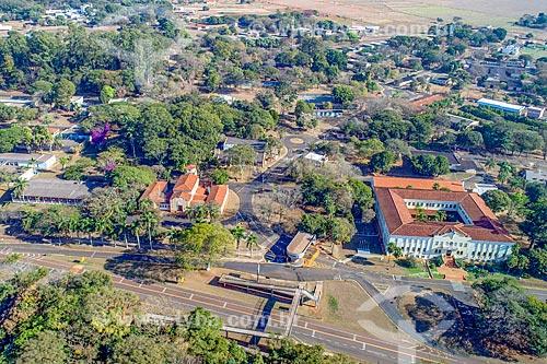 Foto feita com drone do campus Jaboticabal da Universidade Estadual Paulista  - Jaboticabal - São Paulo (SP) - Brasil