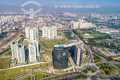 Foto feita com drone do condomínio residencial Jardim das Perdizes  - São Paulo - São Paulo (SP) - Brasil