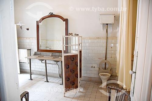 Banheiro no interior da Fundação Casa de Rui Barbosa  - Rio de Janeiro - Rio de Janeiro (RJ) - Brasil