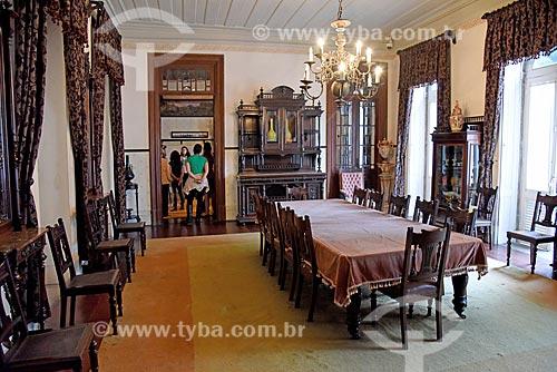 Sala no interior da Fundação Casa de Rui Barbosa  - Rio de Janeiro - Rio de Janeiro (RJ) - Brasil
