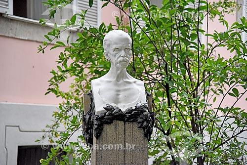 Busto de Rui Barbosa no jardim da Fundação Casa de Rui Barbosa  - Rio de Janeiro - Rio de Janeiro (RJ) - Brasil
