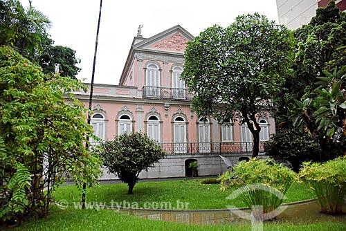 Fachada da Fundação Casa de Rui Barbosa  - Rio de Janeiro - Rio de Janeiro (RJ) - Brasil
