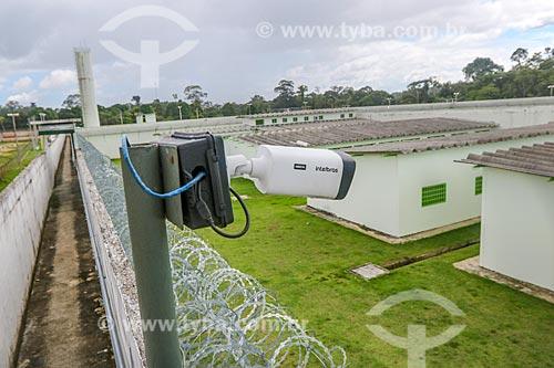 Câmera de segurança no Centro de Detenção Provisória de Manaus II (CDPM II)  - Manaus - Amazonas (AM) - Brasil